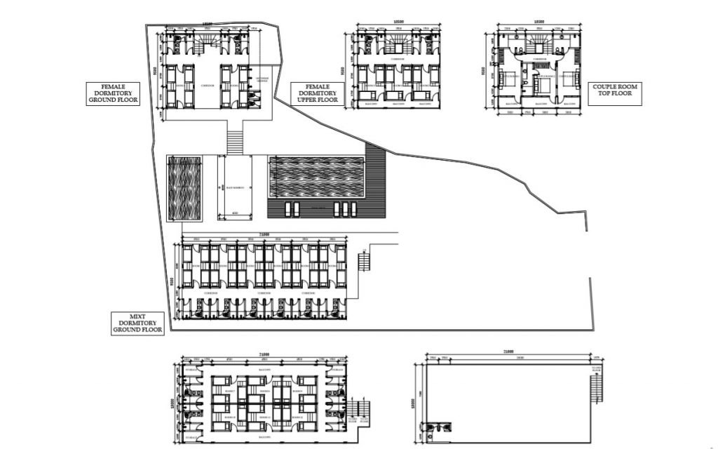 Guest house Layout project Canggu