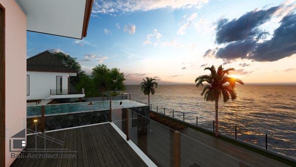 Architectural 3D Rendering Villa Uluwatu