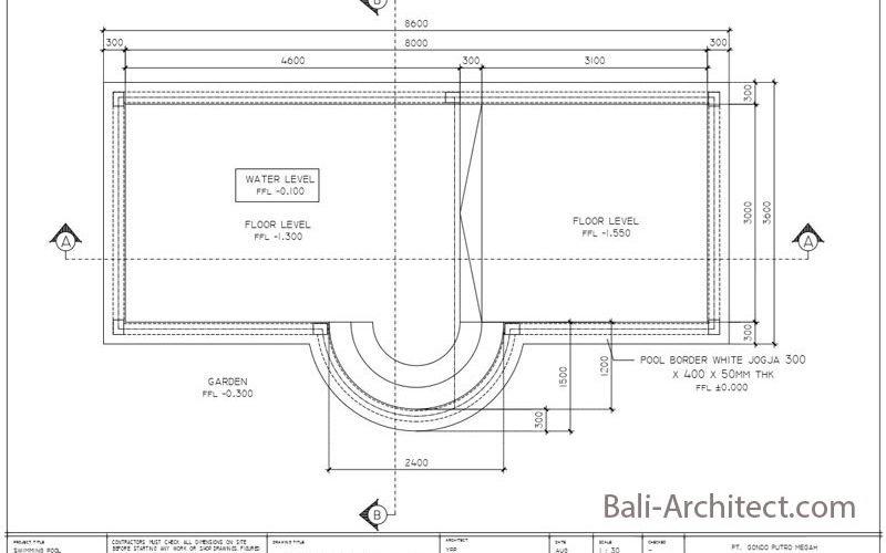 Pool Project Bali Architect